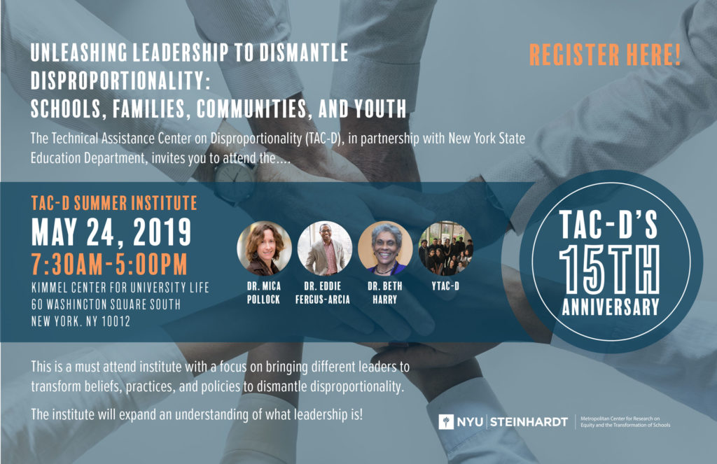 Unleashing Leadership to Dismantle Disproportionality: Schools, Families, Communities, and Youth
